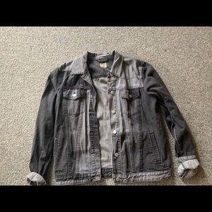 Gap multi color denim jacket